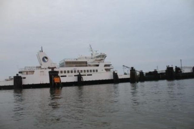 The Cape May Lewes Ferry Service has operated for 40 years and has transported 11 million passengers during its history. The U.S. Army Corps of Engineers Philadelphia District dredges the New Jersey Intracoastal Waterway to enable the ferry and other vessels to safely navigate through the channel.