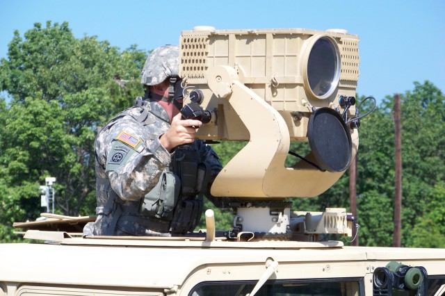 During the Network Integration Exercise 12.1, the Long Range Advanced Scout Surveillance System (LRAS3) will be netted to provide increased situational awareness.