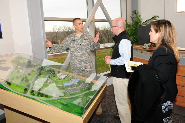 Member of House Armed Services Committee tours U.S. Army installation to see growth, change