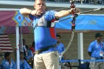 Winning archery silver at the Parapan Am Games