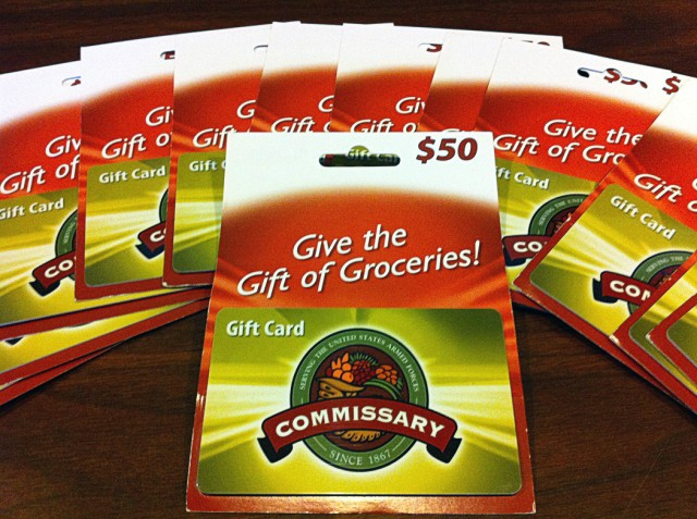 Thanksgiving gift card program helps Monterey military families