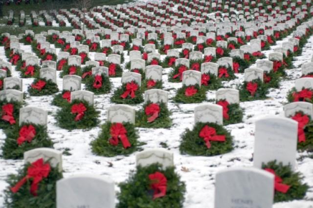 Wreaths laid Arlington National Cemetery, Va.