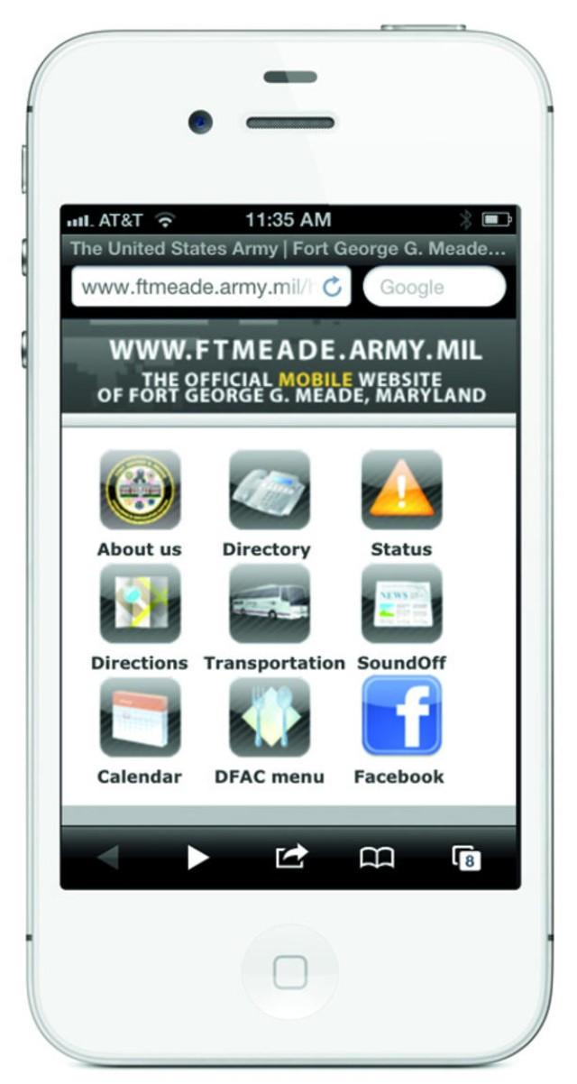 Fort Meade smartphone app