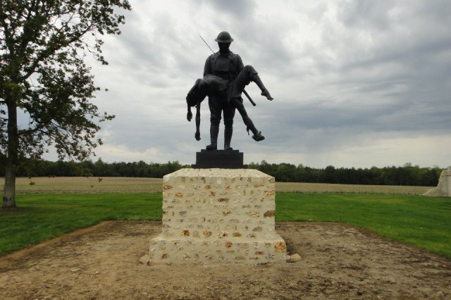 New French Battlefield Memorial Honors National Guard Soldiers of World War I