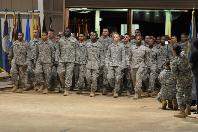 25th Infantry Division Soldiers begin redeployment