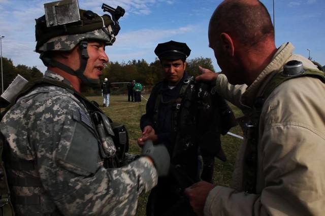 Army Reserve civil affairs Soldiers participate in full spectrum operations