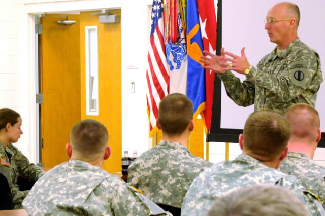 TRADOC CG: 'Stay focused'