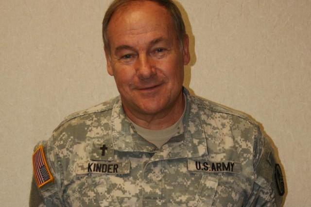 Chaplain (Col.) Douglas K. Kinder