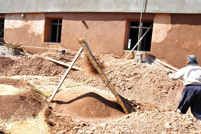 Adobe style builds ensure greater efficiencies in for Adobe house construction cost