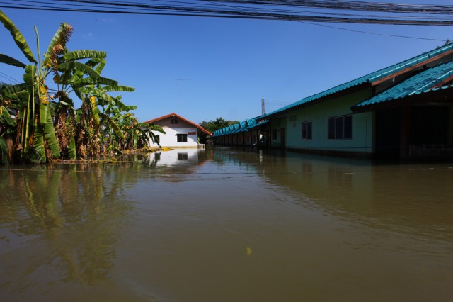 An Eighth Army medical team is conducting a health assessment in support of Thai flood relief operations.