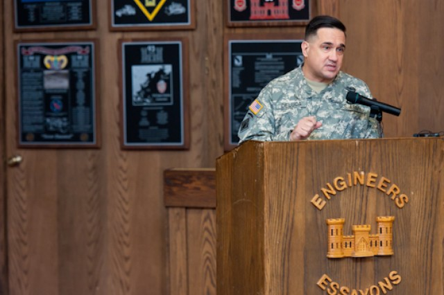DeLuca assumes command of USAES
