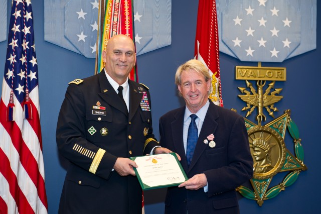 CSA awards seven Outstanding Civilian Service Medals during a Hall of Heroes ceremony