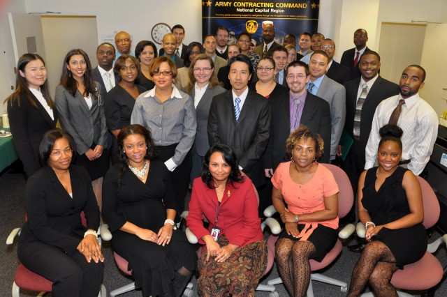 Building the contracting force: ACC-NCR Intern Program graduates 40