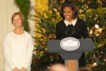 First Lady kicks off holiday season with military families