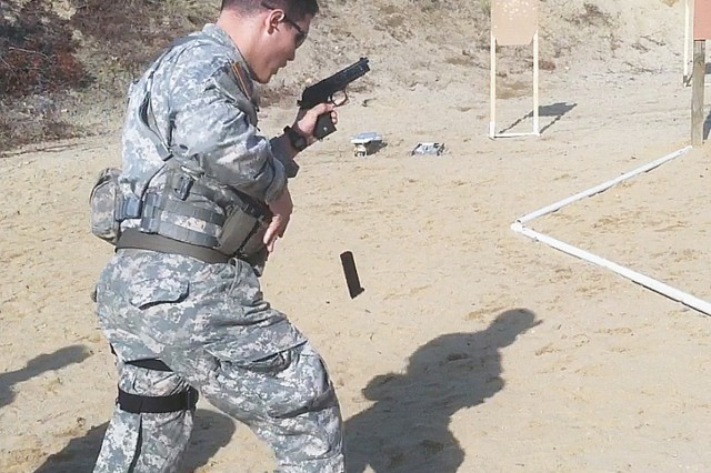 First competition for new Combat Weapons team members