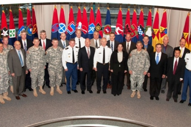 Leaders from across the Army gathered at the U.S. Army War College's Center for Strategic Leadership at Carlisle Barracks, Pa., for the Army Energy Operational Roundtable from Nov. 21-22.