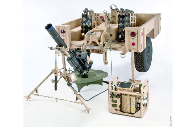 Mortar Fire Control System - Dismounted