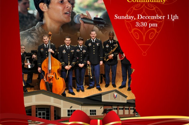 The U.S. Army Materiel Command Band from Redstone Arsenal will perform a FREE Holiday Concert for the community on Sunday, December 11 at 3:30pm at The Thurber Arts Center, Randolph School, located at 4915 Garth Road in Huntsville.