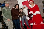 Families kick off the holidays at Fort Bragg Christmas Tree Lighting Ceremony