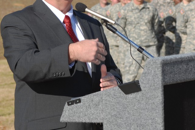 Grand opening Chattanooga Army Reserve Center