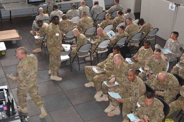Fort Hood Soldiers receive PDHA and PDHRA screenings
