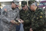 Bulgarian Land Force Commander visits Joint Multination Readiness Center