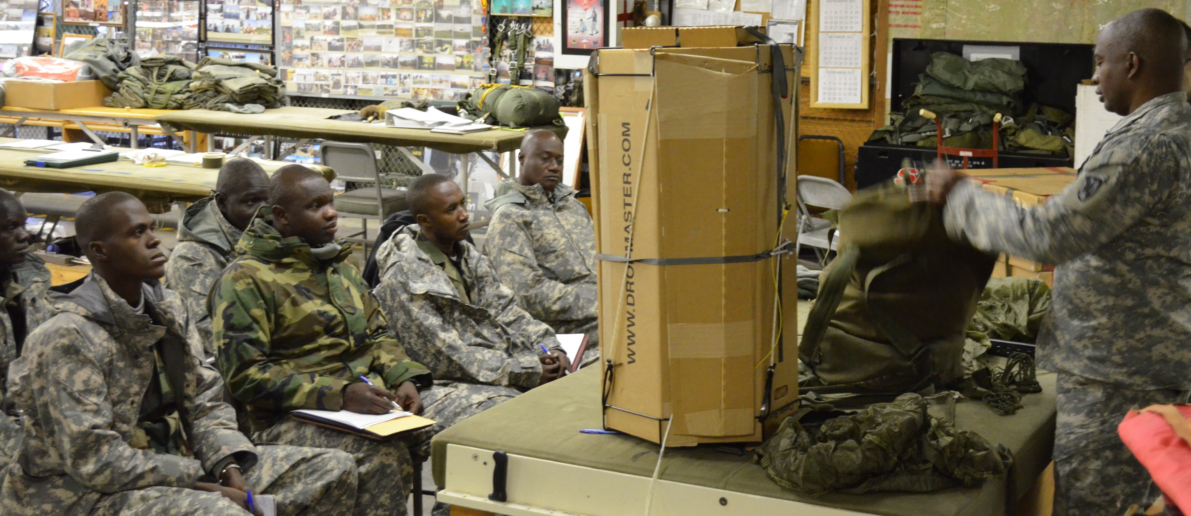 Malian Defense soldiers learn logistics with U.S. Army Special ...