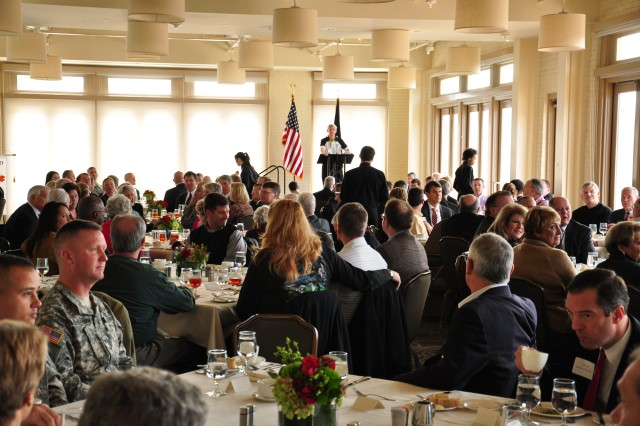 Gen. Rodriguez speaks to West Point Society of the Piedmont, North Carolina
