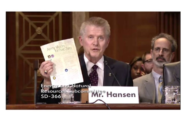Mr. Jerry Hansen, Principal Deputy for the Assistant Secretary of the Army for Installations Energy and Environment testified before the Senate Energy and Natural Resources Subcommittee on Water and Power.