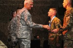 Regional Command (South) NCOs receive the Sergeant Audie Murphy Award