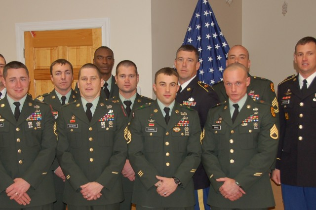 Army Logisitics University Explosive Ordnance Disposal Advanced Leaders Course students graduate