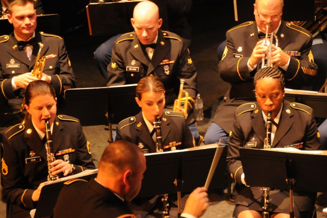 The 208th Army Reserve Band performs its annual Holiday Concert at the Newberry Opera House in Newberry, S.C. on December 10. The band performed a variety of Christmas favorites much to the enjoyment of a full house.