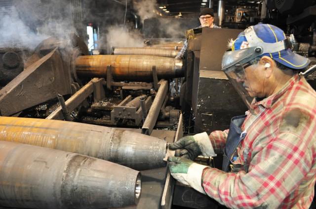 Producing bomb casings