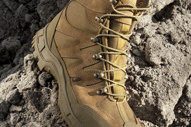 The Hot Weather Mountain Combat Boot should be fielded in spring 2012.