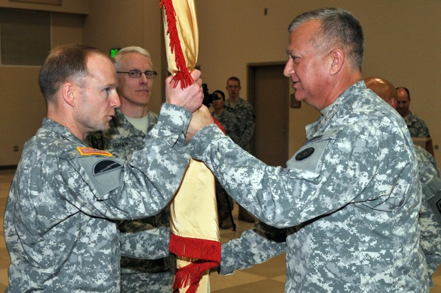 316th ESC Change of Command