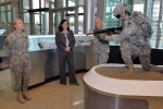 HON Ms. Hammack visits the Army Material Command