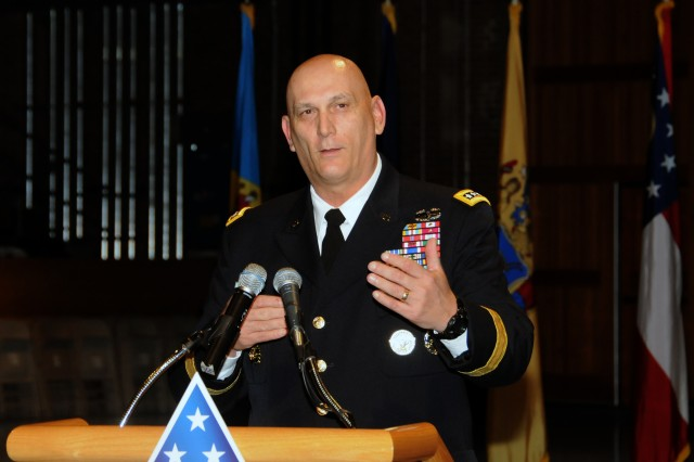 Army Chief of Staff Gen. Raymond Odierno speaks at a ceremony on Joint Base Myer-Henderson Hall, Va., earlier this month.