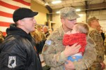 Devil Brigade Soldiers return to Fort Riley
