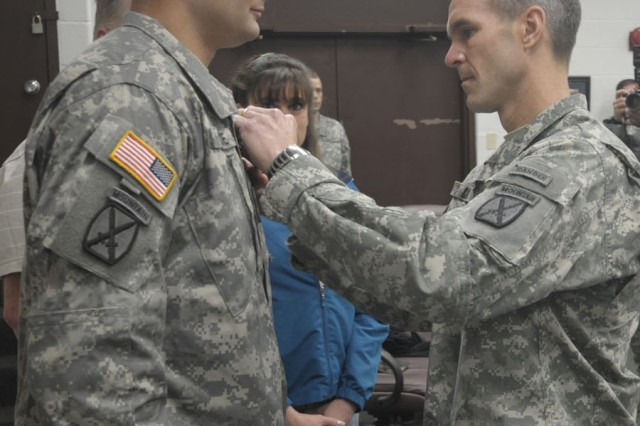 Sgt. Timothy Gilboe was awarded the Silver Star Dec. 16, 2011, for actions in Wardak Province, Afghanistan.