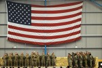 Army Chief of Staff Raymond Odierno speaks with Soldiers on Kandahar Airfield