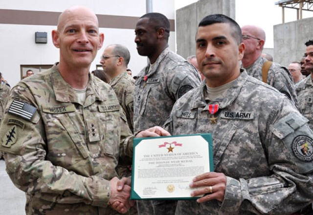 This is my town: Soldier's hometown recognized for its support