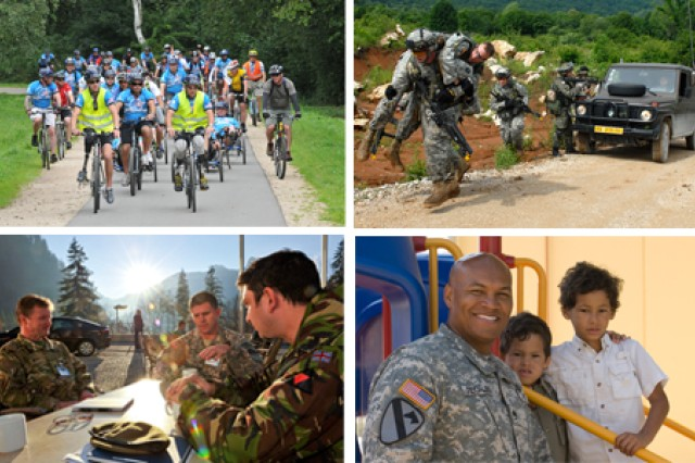 A look back at the highlights and challenges for U.S. Army Europe in 2011.