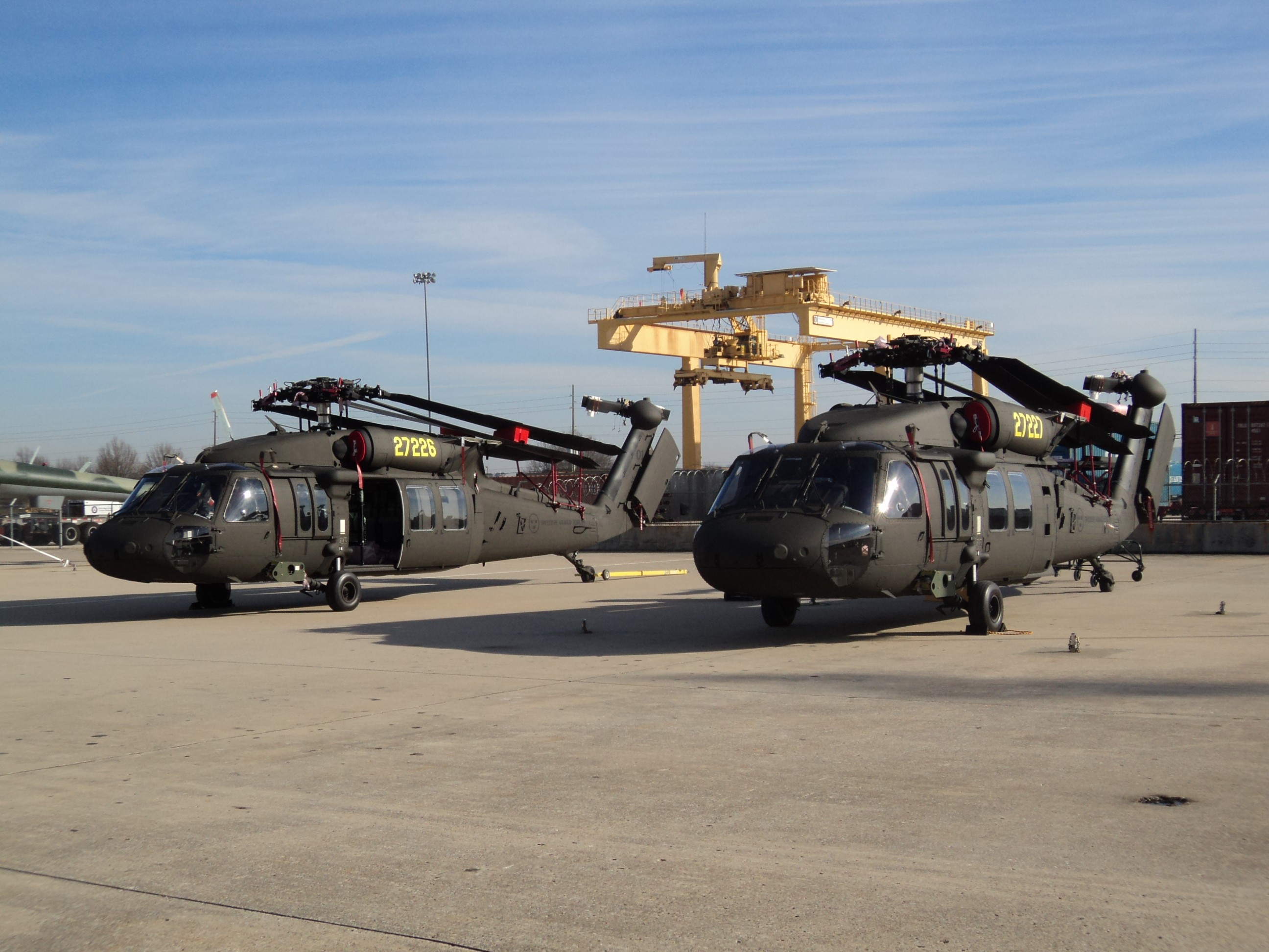 Group Effort Delivers Helicopters To Sweden Article