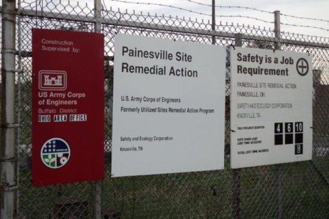 The Painesville Site, located in Painesville, Ohio, was a former magnesium production facility, operated by the Diamond Magnesium Company under contract to the Federal Government. From 1951 to 1953, Diamond Magnesium received approximately 1,650 tons of radioactively contaminated scrap steel from the Lake Ontario Storage Area to be used in the magnesium production process.