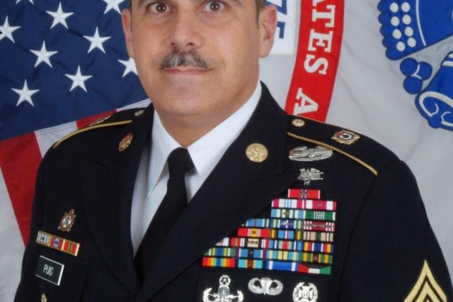 Command Sergeant Major David Puig Leaves The Joint