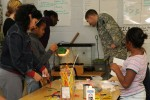 ASC Soldier mentors students