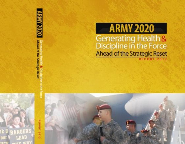 Generating Health & Discipline in the Force - Report 2012