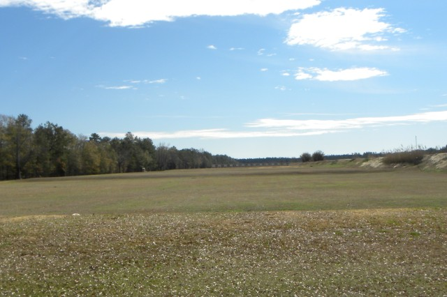 It is a long way from the 600 yard firing line to the targets at the USAMU's Easley Range