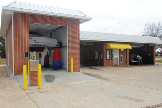 New Car Wash Facility Opens On Post Friday