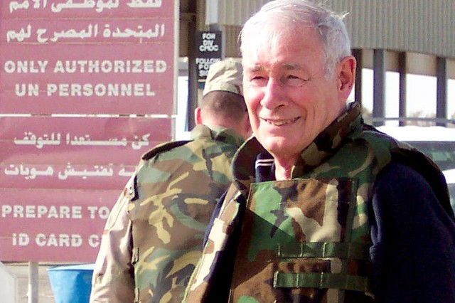 Plummer worked in Iraq as a consultant for a defense contractor just months after the U.S. invasion in 2003.